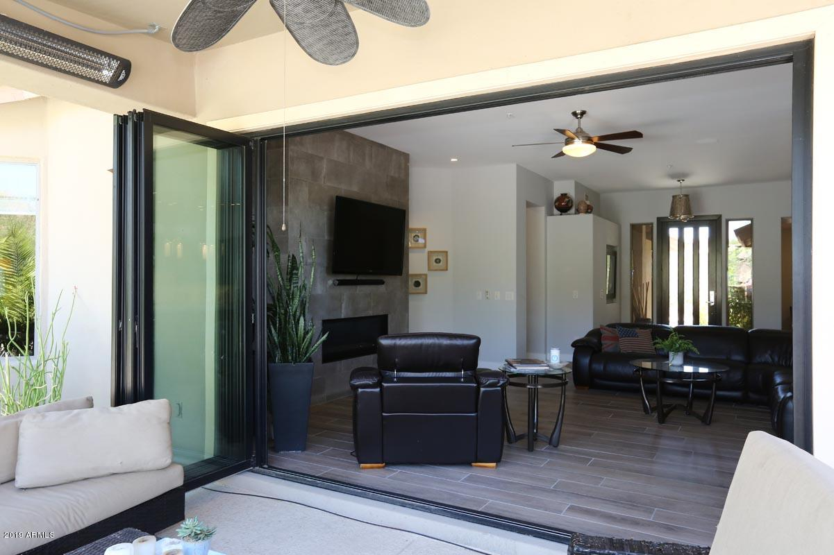 Covered Patio-Moving Wall of Glass