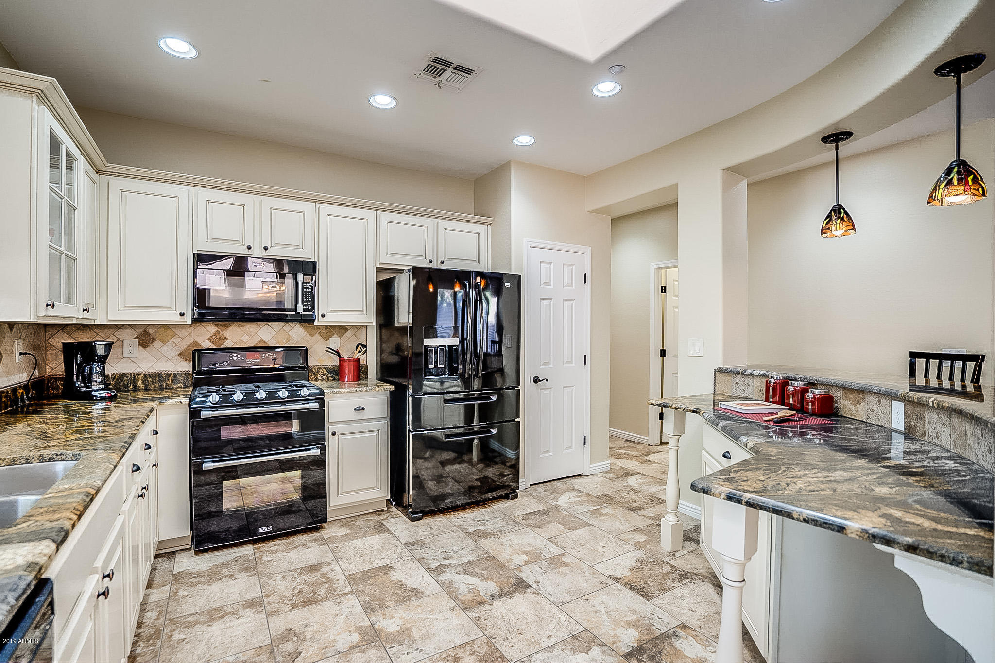 Chase Oaks-French Country Kitchen