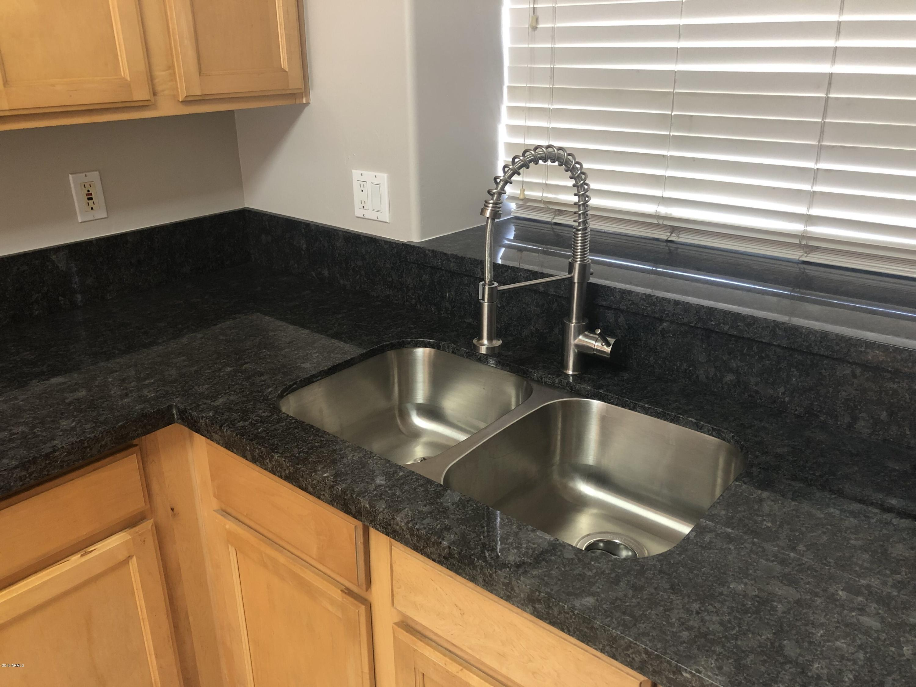New Stainless Steel Sink and Adjustable