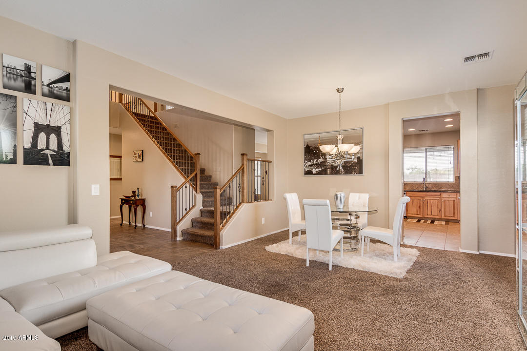 Formal Living & Dining Area