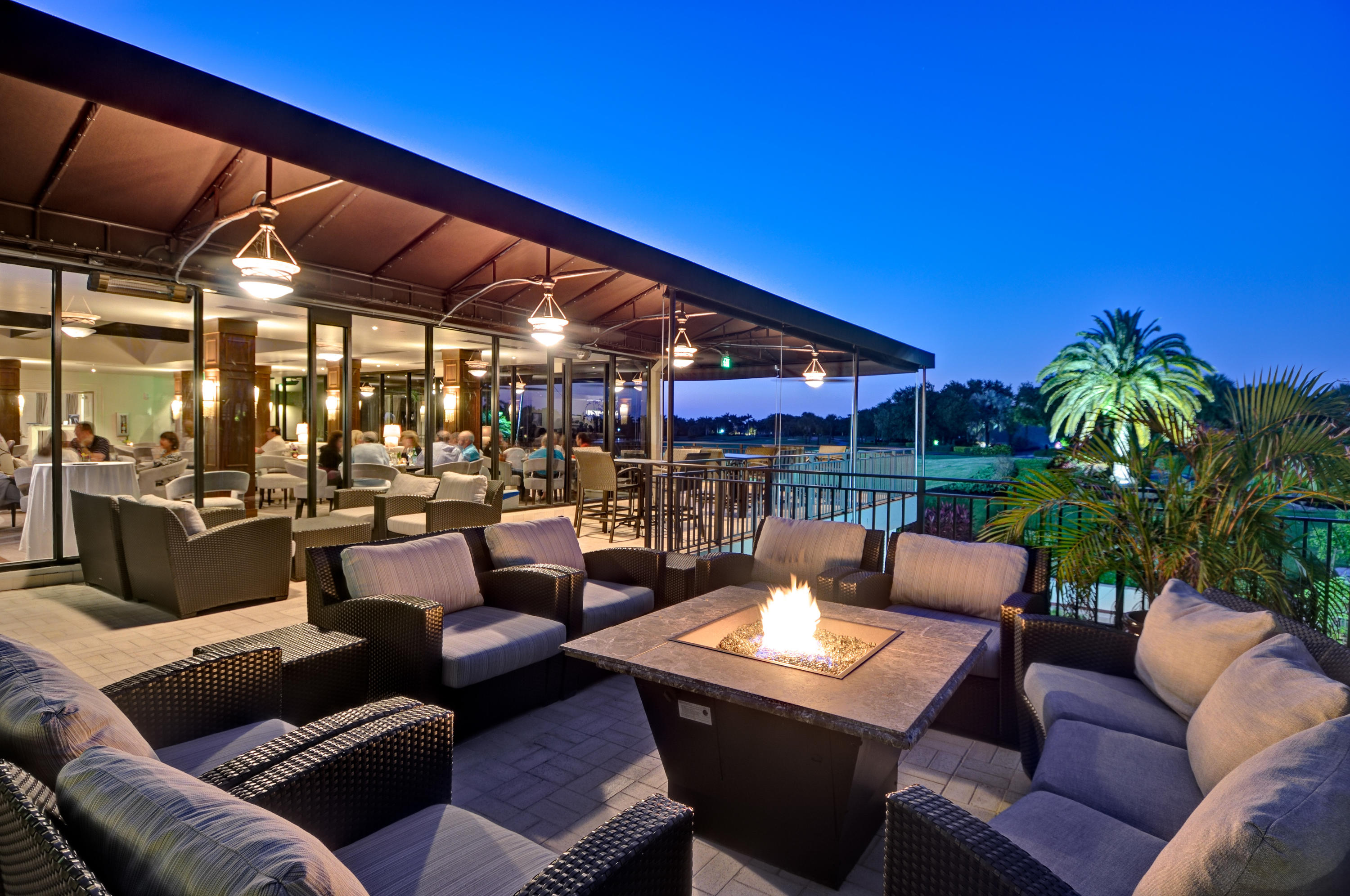 St Andrews Country Club Terrace