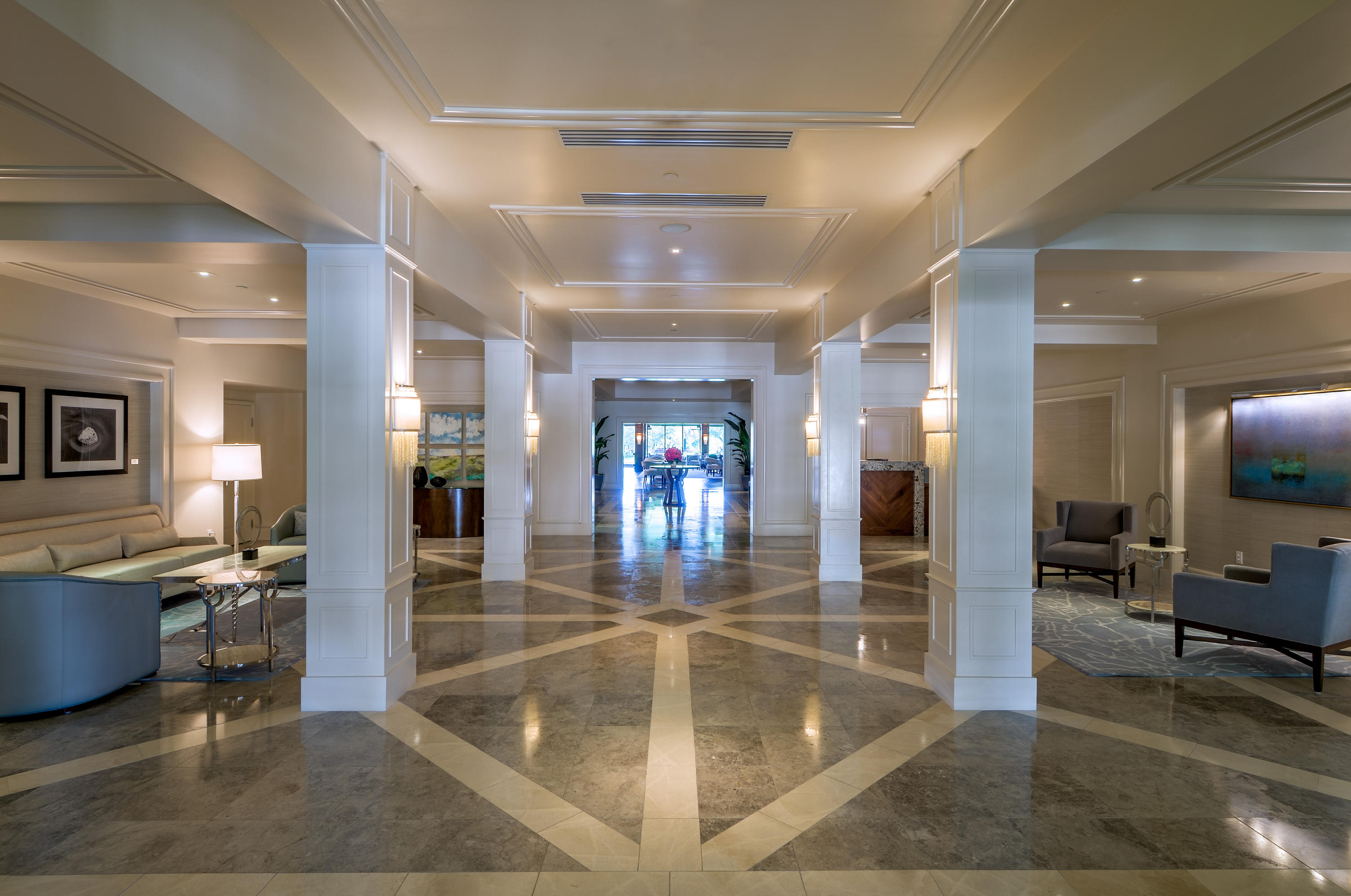 St Andrews Country Club Lobby
