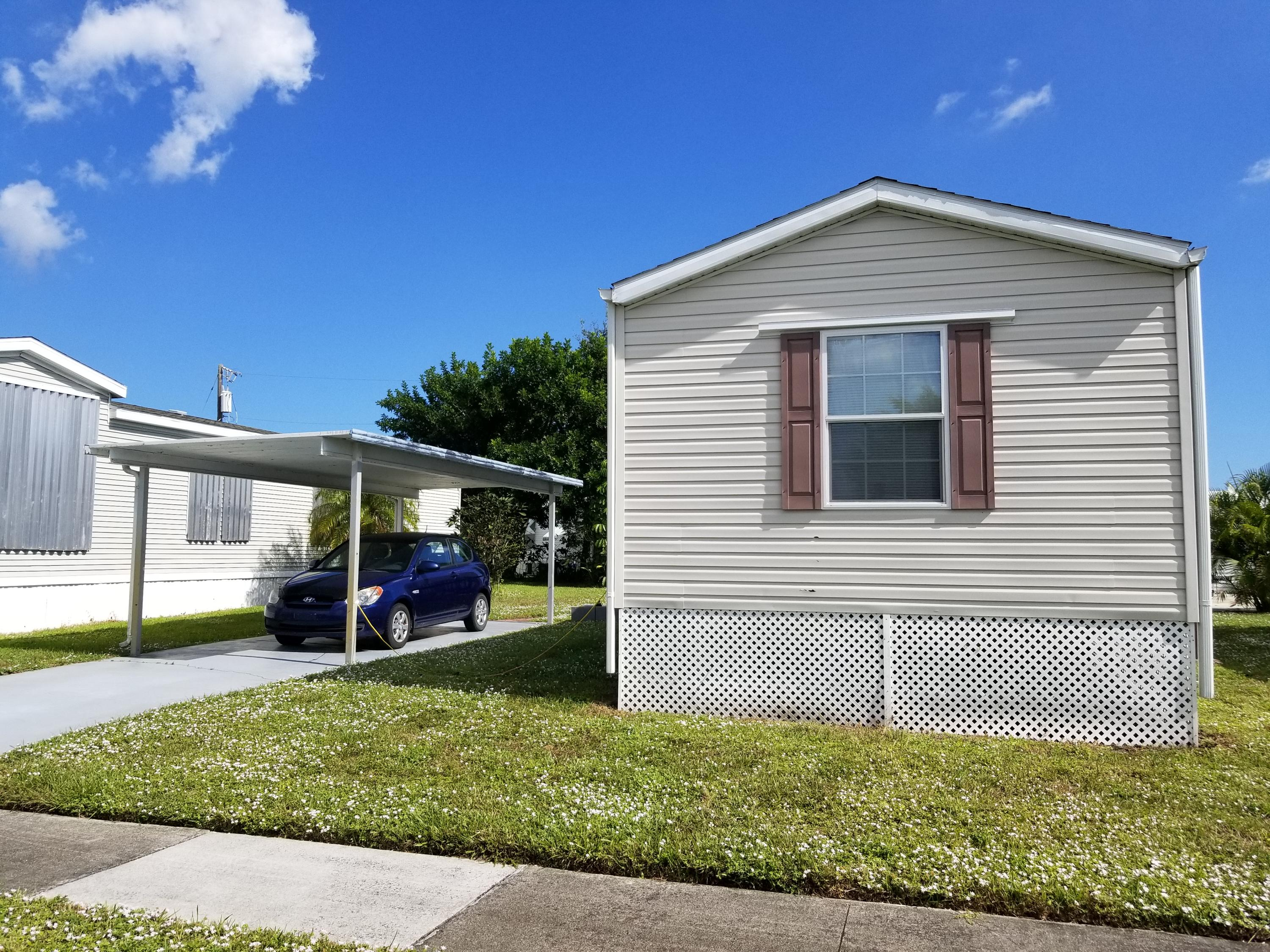 Northern Pines Mobile Home Park, Boynton Beach, Florida Homes For