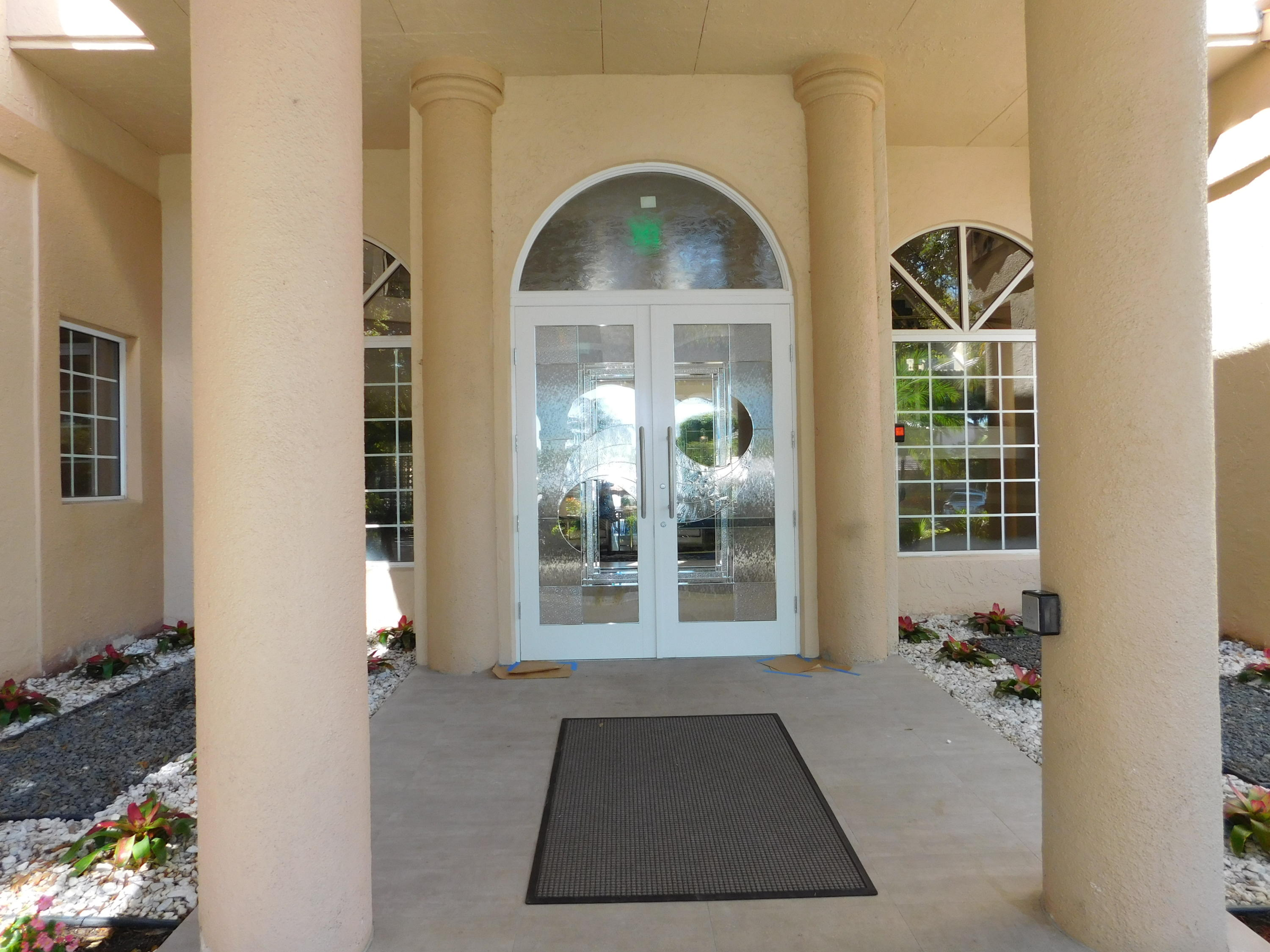 Clubhouse Entry Door