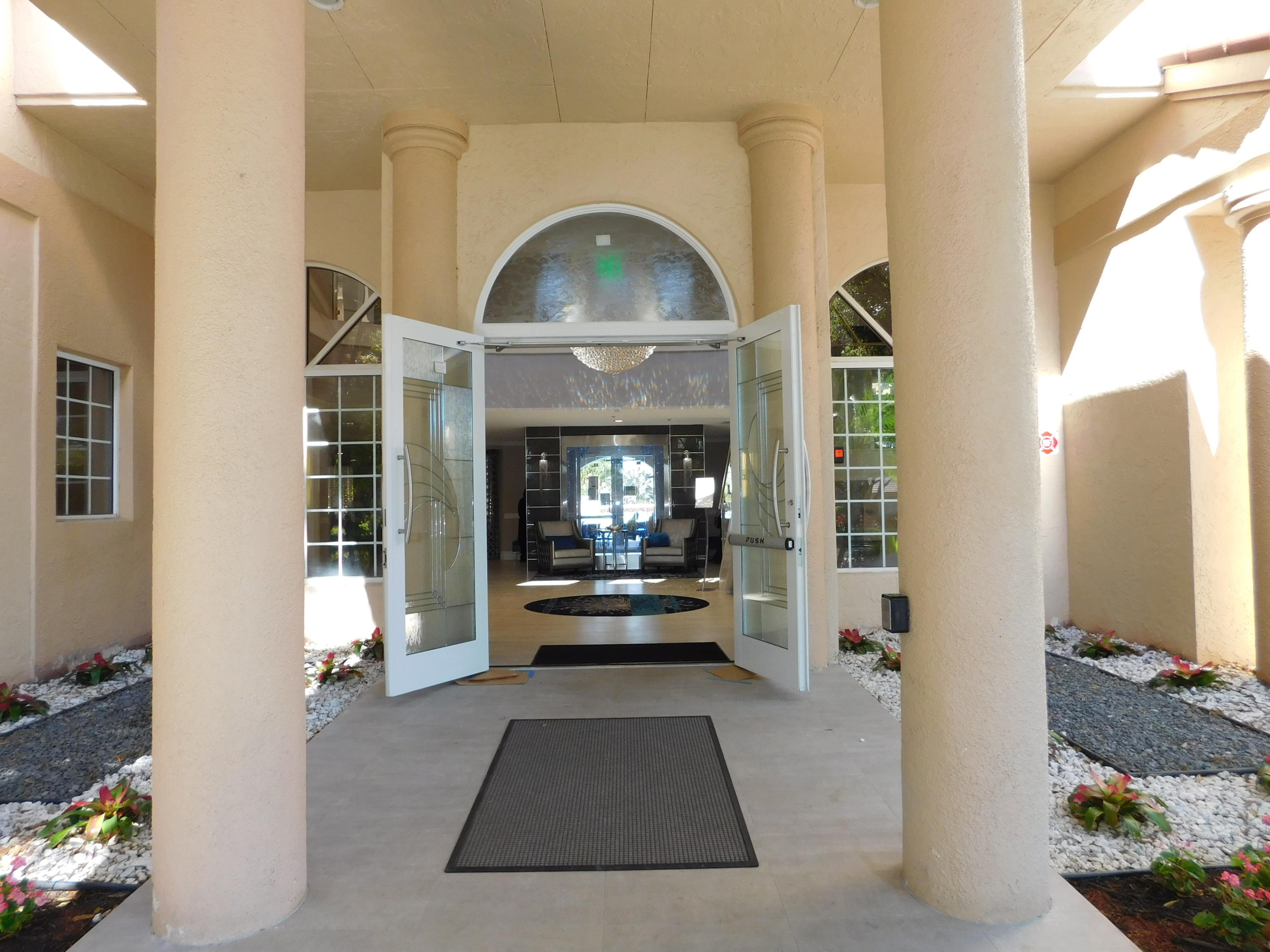 Clubhouse Entry Door (2)
