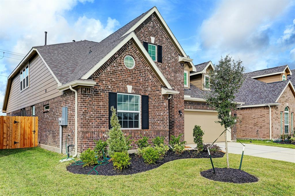 Two-story home with 4 bedrooms, 3 baths and 2 car garage