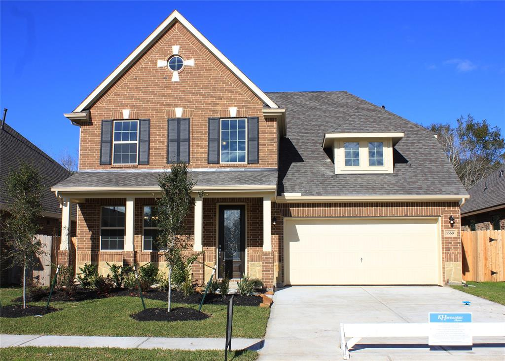 Stunning Captiva II design by K. Hovnanian Homes with elevation D in beautiful Sunset Ranch.