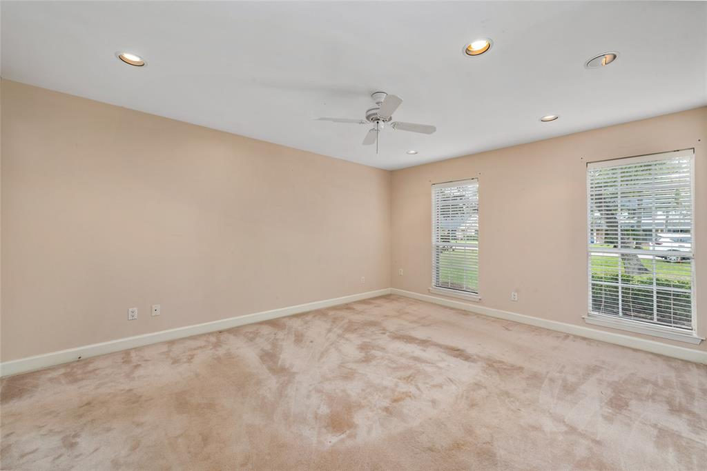 Master Bedroom is so spacious!