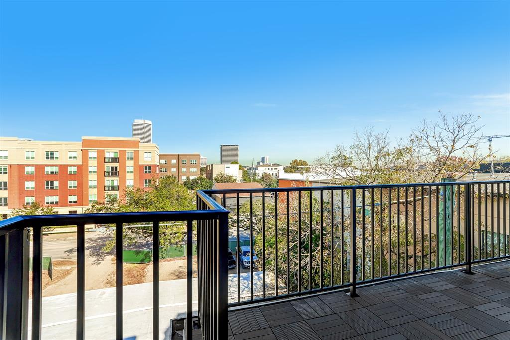 4th floor terrace just outside of the game room is plumbed with gas and is the perfect place to expand the entertaining outdoors.
