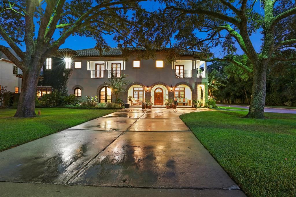 A one of a kind luxury home, situated on a one of a kind wooded lot, in the heart of Bellaire.