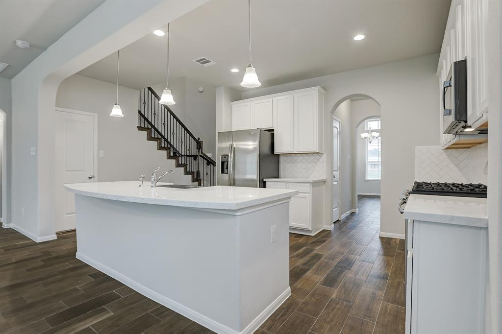 Kitchen with access to dining room