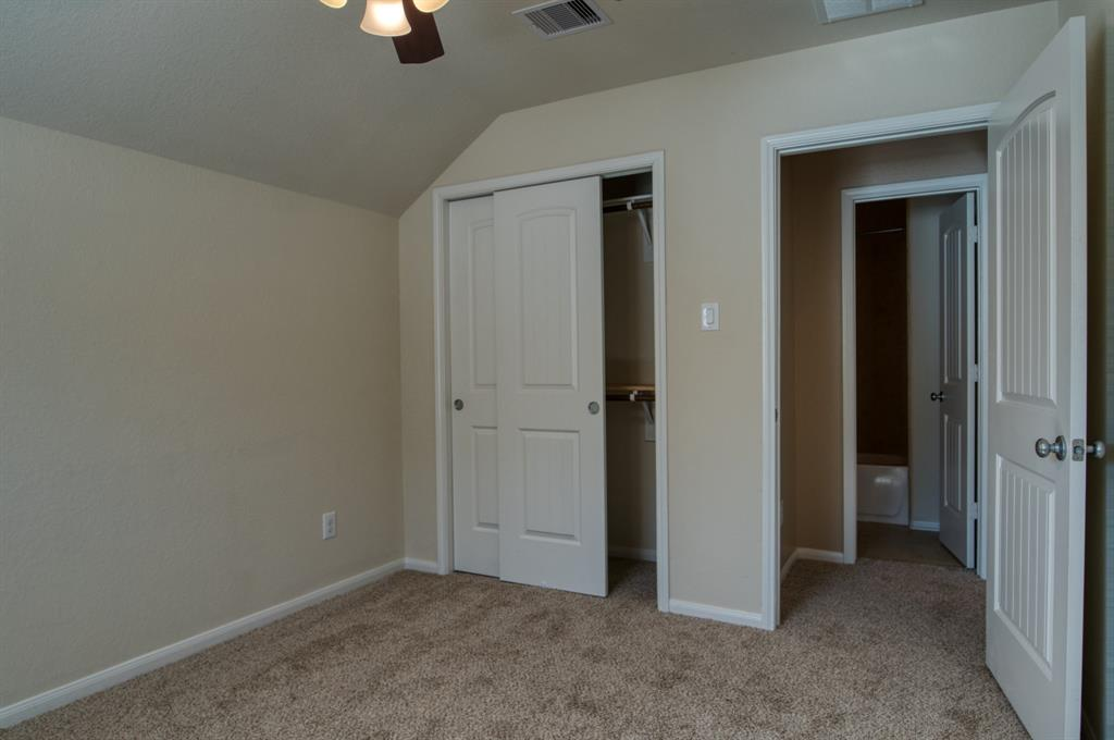 Bedroom #2 with good size Closet and easy access to Full Bath.