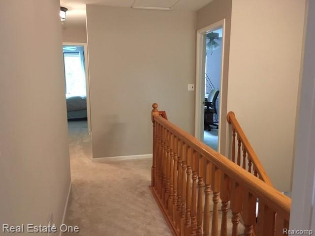 View from entryway of Master Bedroom.