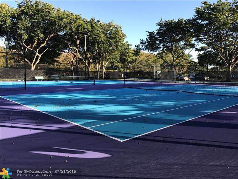 Two Tennis Courts with Superb Night Lighting