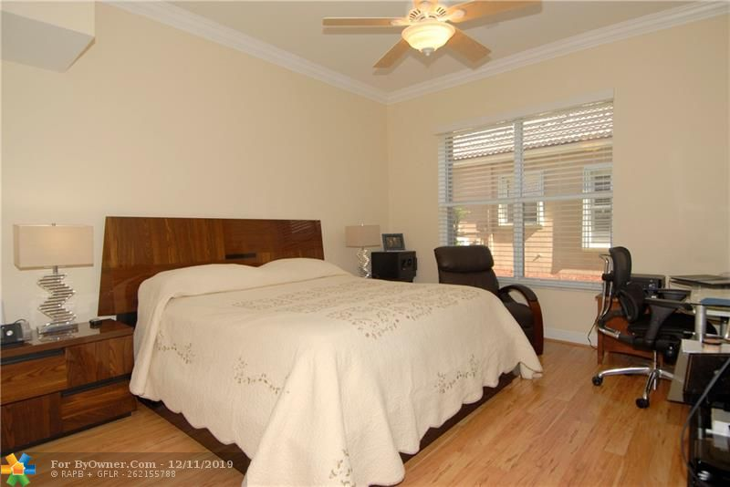 The second downstairs bedroom