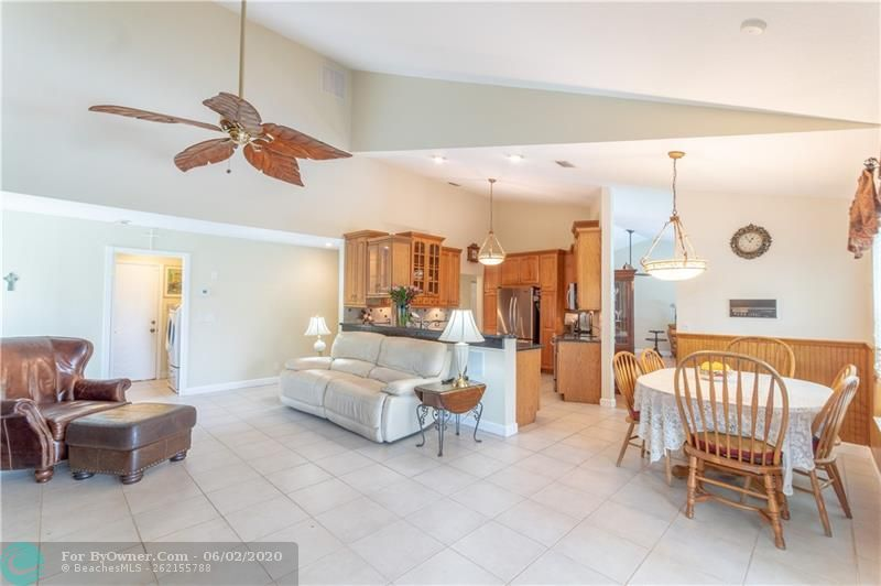Master bath: Jacuzzi tub, separate stall shower, updated vanities with double sinks.