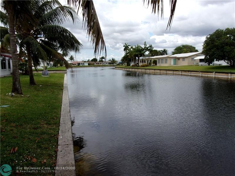 Rear canal view