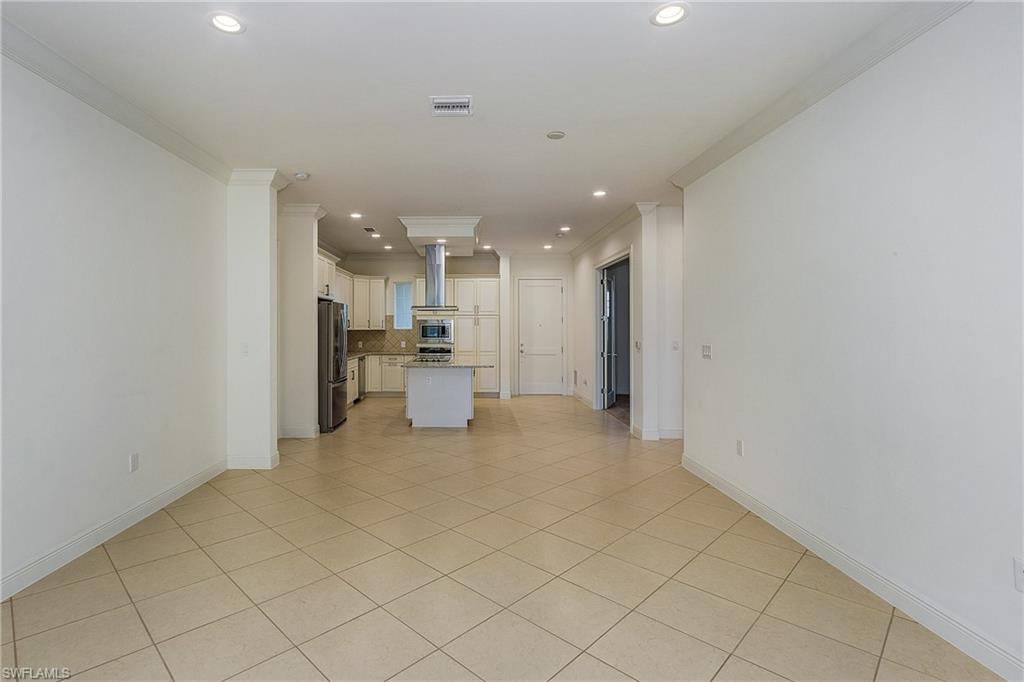 Spacious great-room open to the kitchen ideal for entertaining.