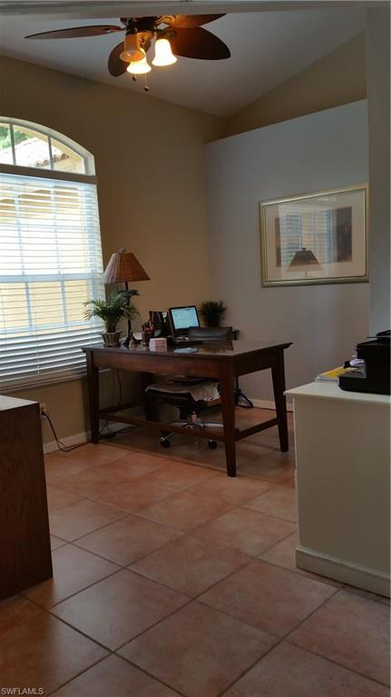 4th Bedroom staged as an office