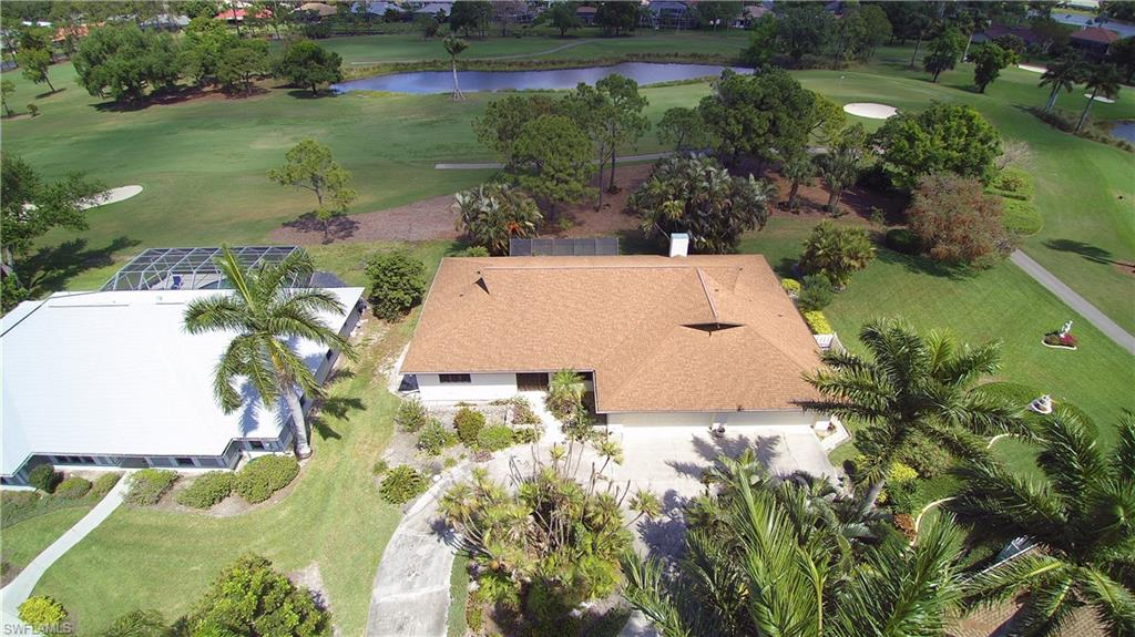 Large home with wrap around golf views!